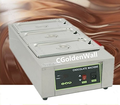 Cgoldenwall 12kg Capacity 3 Tanks Commercial Electric