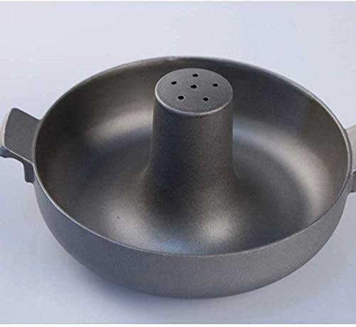 HBCM Hard Anodised Shallow Casserole Dish with Non-Stick Interior and Comes with Lid - Suitable for All Hob Types Including Induction