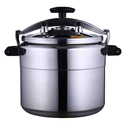 JBHURF Pressure cooker explosion-proof pressure cooker large capacity pressure cooker aluminum pressure cooker fire gas furnace pressure cooker can be used in kitchen hotel restaurant