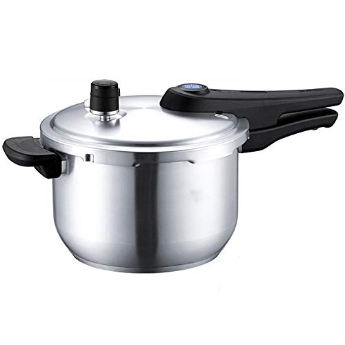 304 Stainless Steel Pressure Cooker Explosion Proof Pressure Cooker Household Blue Eye Pressure Gas stoves Induction Cooker Universal (Size : 24cm/9.4in)