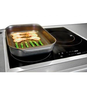 A.K TRADING  A Oven Induction IB 40x26 Black Code 0506