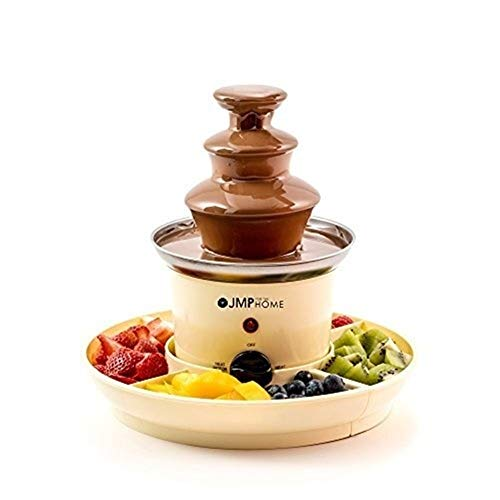 ATM The Home Chocolate Fountain with Serving Trays - Chocolate Fountains and Chocolate Fondues