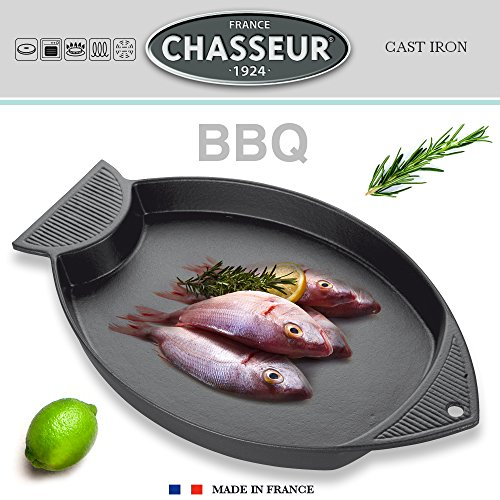 Chasseur - Fish Grill 40 x 24 cm Cast Iron