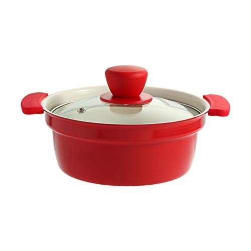 CZWYF Ceramic Hot Pot, Non-stick Pot Soup Gas Cooker Universal (Size : 24cm)