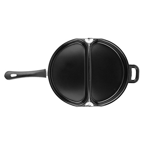 Egg Frying Ring Nonstick Coating Stainless Steel Omelet Egg Pan Poacher Cookware Stove-top Family Kitchen