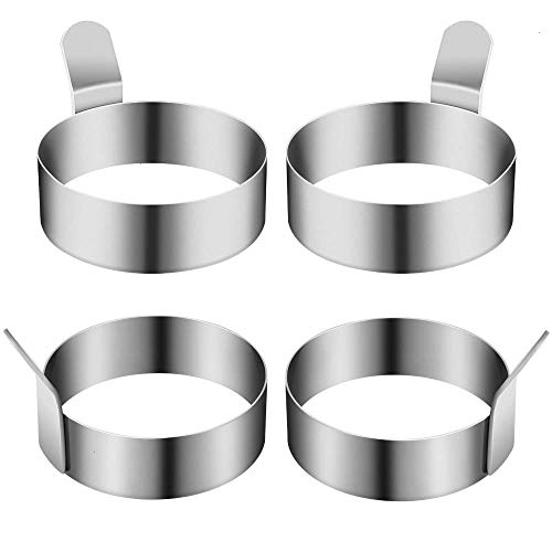 Egg Frying Ring Stainless Steel Omelet Mold Cooking Non Stick Pancake Ring Metal Kitchen Cooking Egg Ring