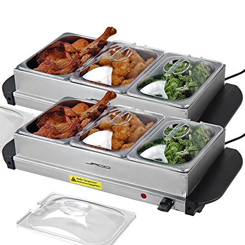 Jago Buffet Food Warmer Hot Plate in Different Sizes and Sets