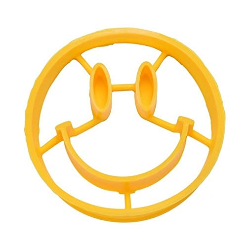 Kitchen Accessories Silicone Egg Mold Smiley Face Breakfast Egg Omelette Smile Shaped Pancakes Cooking Tools-in Egg & Pancake Rings