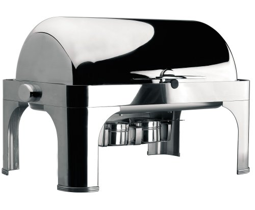 Lacor-69034-ROLL TOP CHAFING DISH GN 1/1 W/ST.ST.LEG