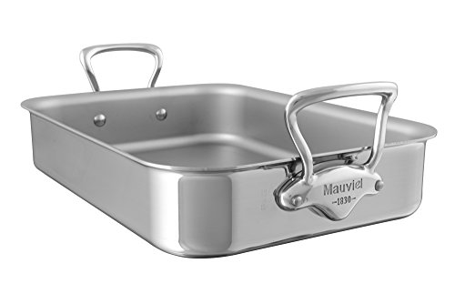 Mauviel M'Cook Stainless Steel Roasting Dish 30x22x6cm