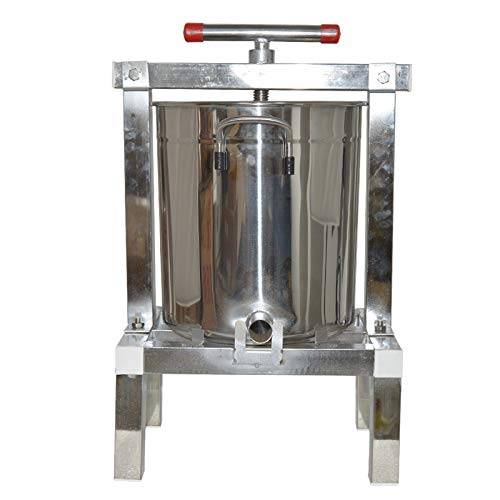Stainless Steel Paraffin Honey Presser Machine Manual Fully Enclosed Wax Press Machine Honey Rolling Mill waxing Machine 1pc