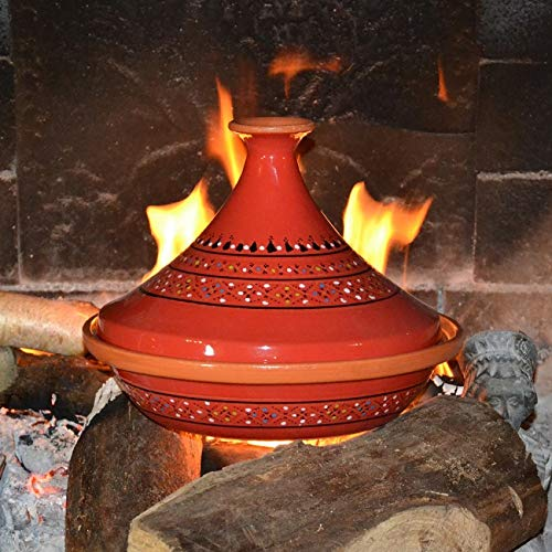 Yodeco Traditional Moroccan Tagine Red - 31 cm