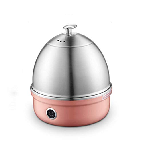 Durable Stainless Steel Pink Electric Egg Cooker, The Boiler Can Boil 7 Eggs.