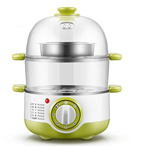 Egg Egg Cooker, 400W Double-layer Electric Egg Cooker, Multifunctional Egg Cooker (green)