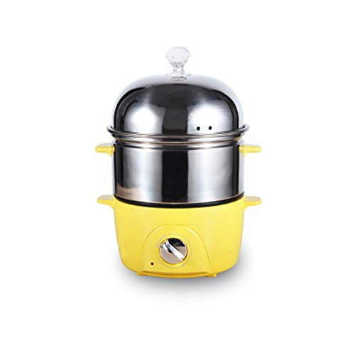 Egg Steamer, Egg Cooker, Automatic Power Off Household Multifunctional Stainless Steel Egg Cooking Artifact, Breakfast Machine.