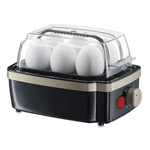 Egg Steamer, Household Multi-function Egg Cooker, Automatic 6 Small Steamed Pasta Breakfast Machines.