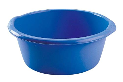 HEGA Florencia Round Washing-Up Bowl 6 Litre, Bright Assorted