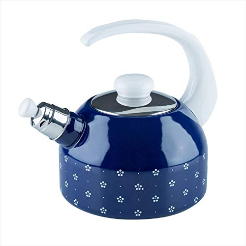 Riess  Country - Dirndl Water Kettle with Lid 18 cm Blue