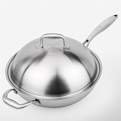 TL Smokeless Non-Stick Uncoated Stainless Steel, Three-Layer Steel Five-Layer Steel Kitchen Supplies Exhibition