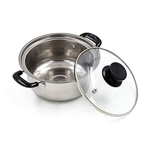 ZATPFSDG Stainless steel stockpot, non-stick cookware set, cooker, pan kettle, 1 pc.