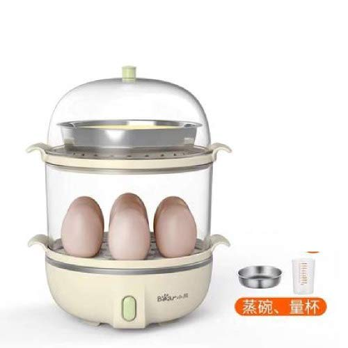 Egg Boiler and Cooker,2 Layers and up to 14 Egg Capacity, Boil Dry Protection