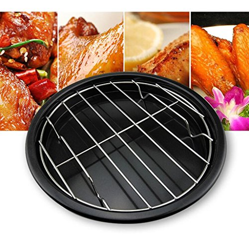 Heatproof Barbecue Grill Stainless Steel Gas&Charcoal Grate Grids,8''&10''